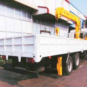 xe tải hyundai HD210 gắn cẩu soosan 6 tấn