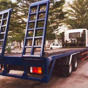 xe tải hyundai HD210 chở xe máy chuyên dùng
