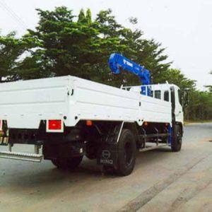 xe tải hino FG8JPSB gắn cẩu tadano 3 tấn
