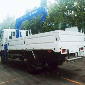 xe tải hino gắn cẩu tadano 3 tấn xzu720l