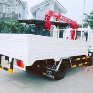 xe tải hyundai HD65 Gắn Cẩu Unic 2 Tấn