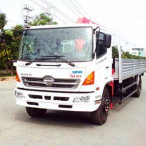 xe tải hino FG8JPSL gắn cẩu unic 3 tấn