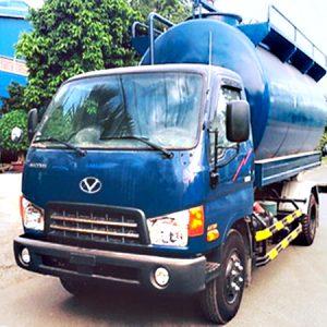 xe bồn chở cám hyundai HD99 đô thành