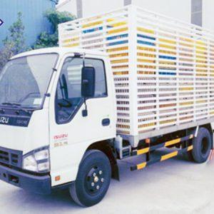 xe tải isuzu 1.9 tấn chở gia cầm