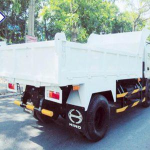 xe ben hino wu342l tải tự đổ 4.5 tấn