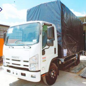 xe tải isuzu 3.95 Tấn chở mô tô, xe máy