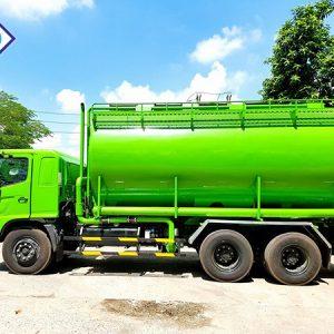 xe tải hino FL8JTSA bồn chở thức ăn gia súc