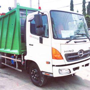 xe chở rác Hino FC9JESW 9 khối