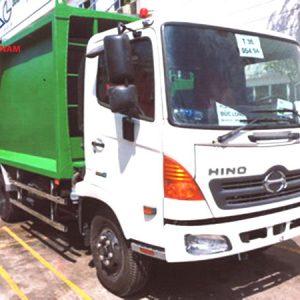 xe chở rác Hino FC9JETA