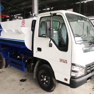 xe chở xăng dầu 3m3 isuzu QKR77F